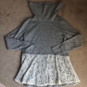 Sweater gray